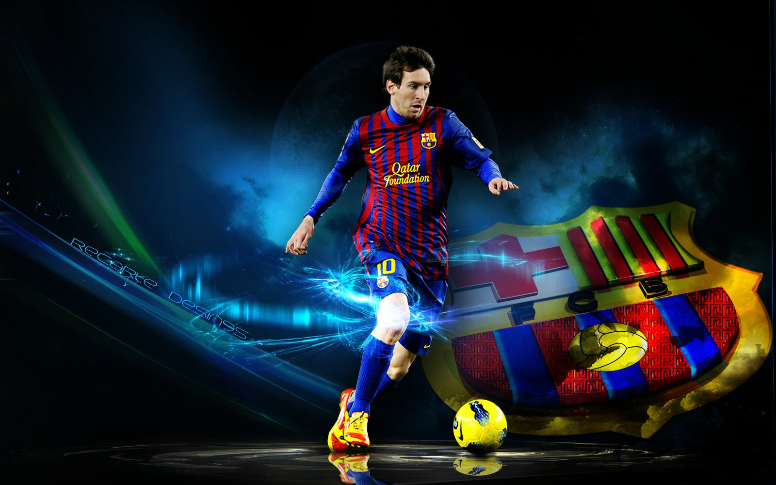 Lionel Messi Barcelona HD Wallpapers 2013 2014 1600x1000