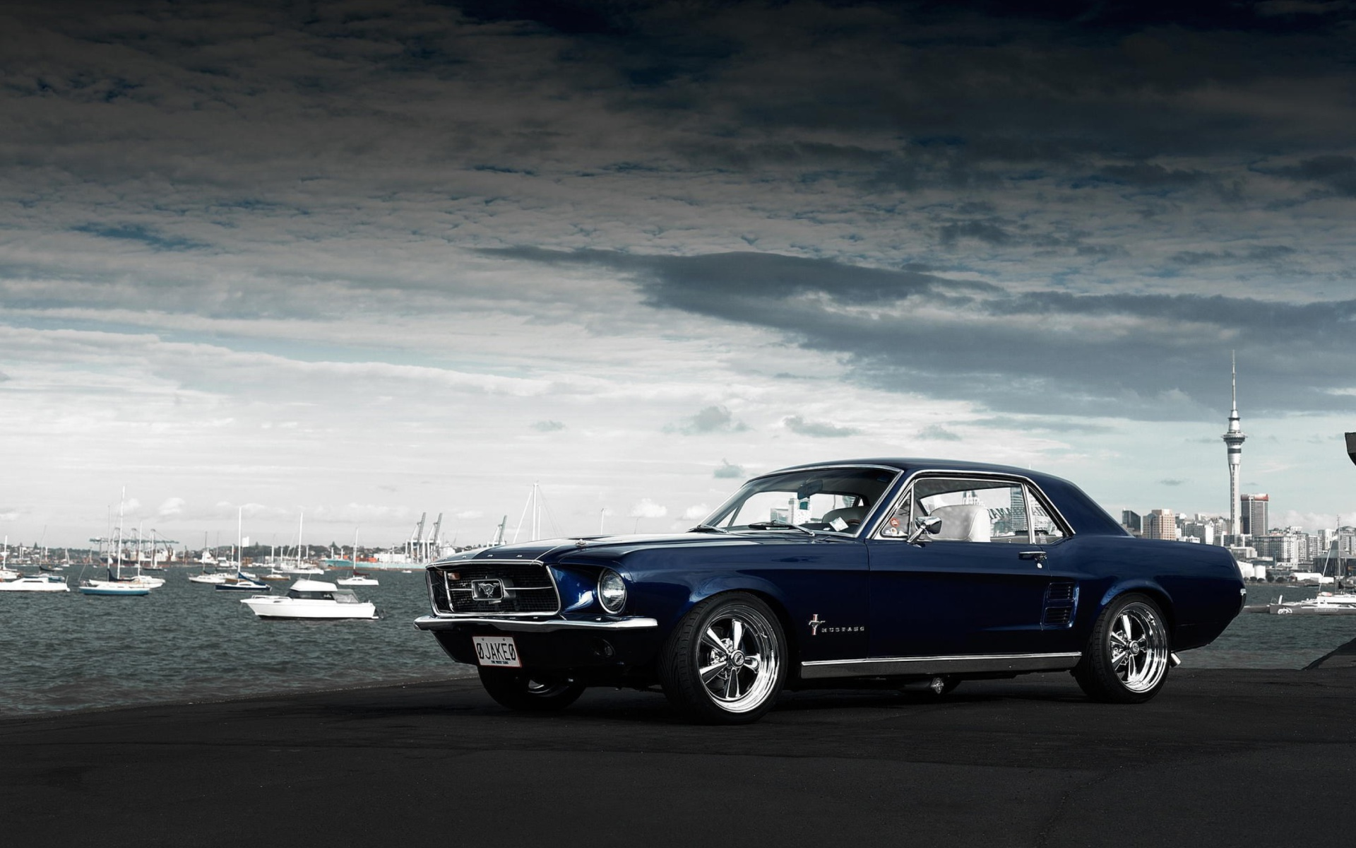 ford mustang 1967 wallpaper for widescreen desktop pc