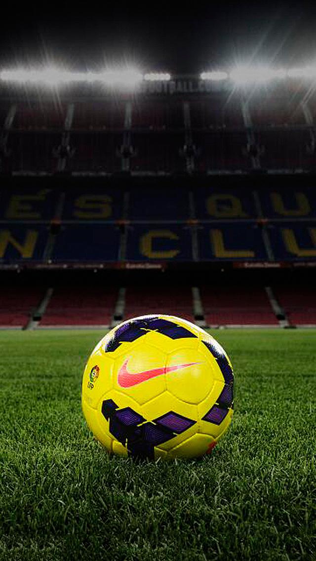 iPhone 5 Wallpaper Sports nike soccer 640x1136
