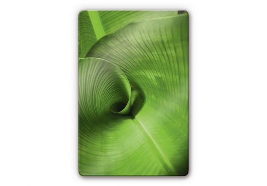 Banana Leaf Glass art   wall artcom 547x380