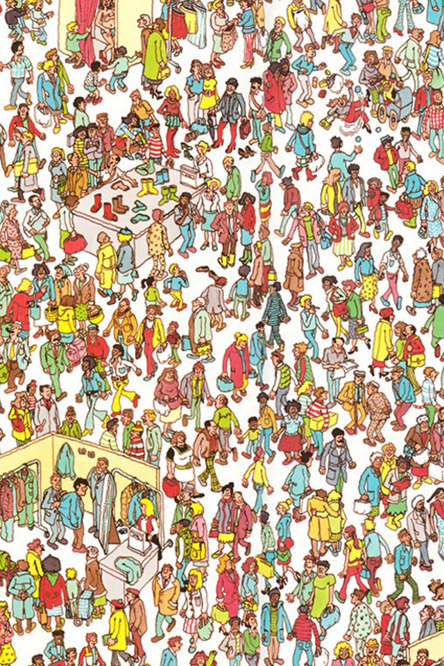 Wheres Waldo Wallpaper Wallpaper wheres waldo for 640x960