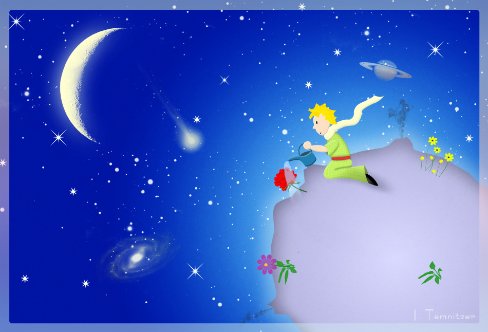 The Little Prince By Inilein 950x646