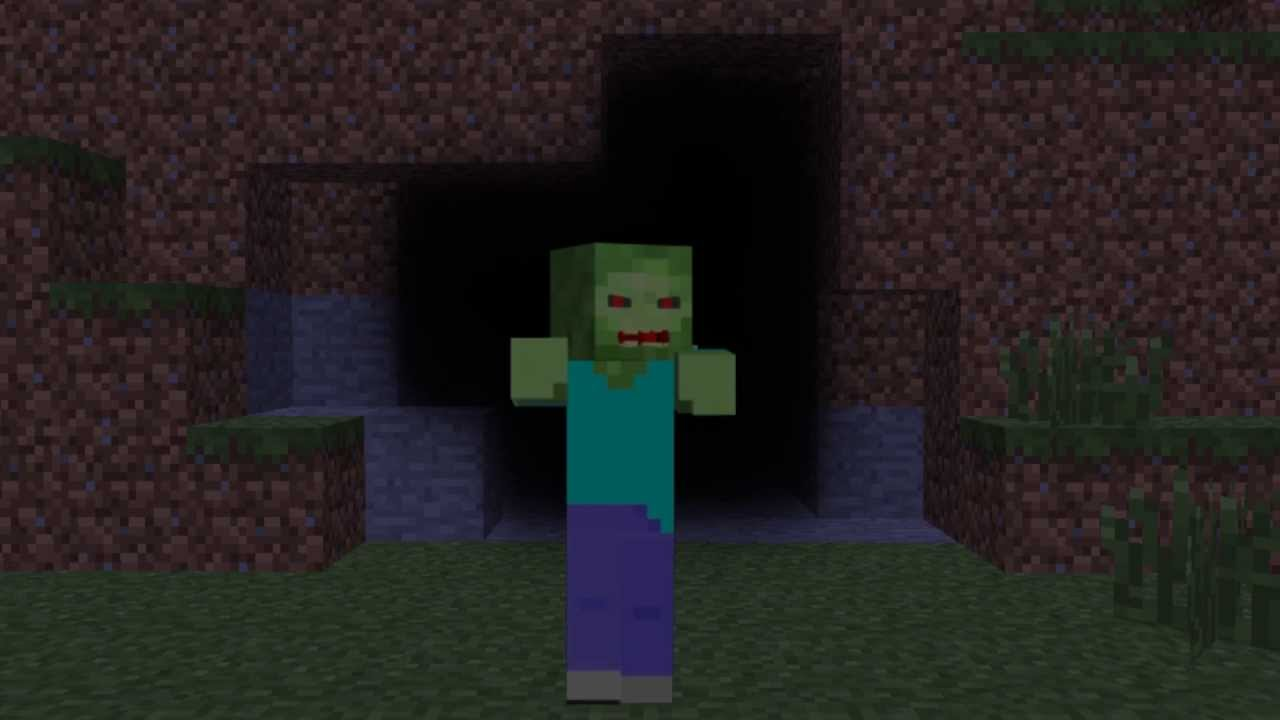 Free download Minecraft Zombie Live Wallpaper [12x12] for your