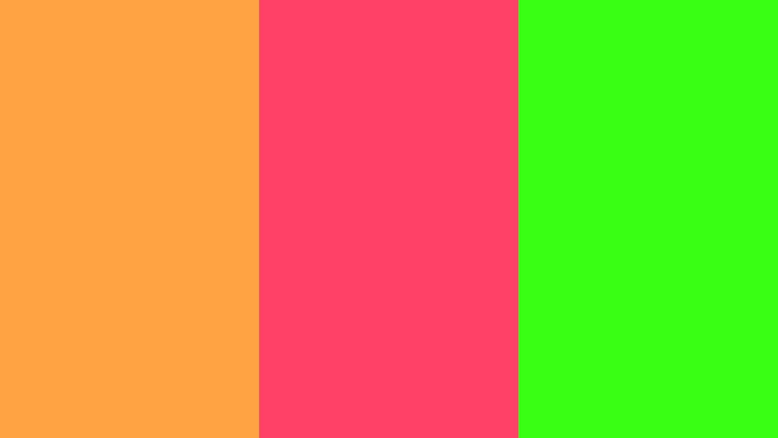 Neon Carrot Fuchsia Green Three Color Backgroundjpg 1600x900