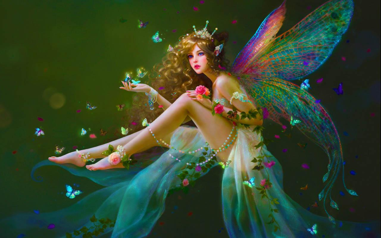 Fairy HD Background Wallpapers 8605   HD Wallpaper Site 1280x800