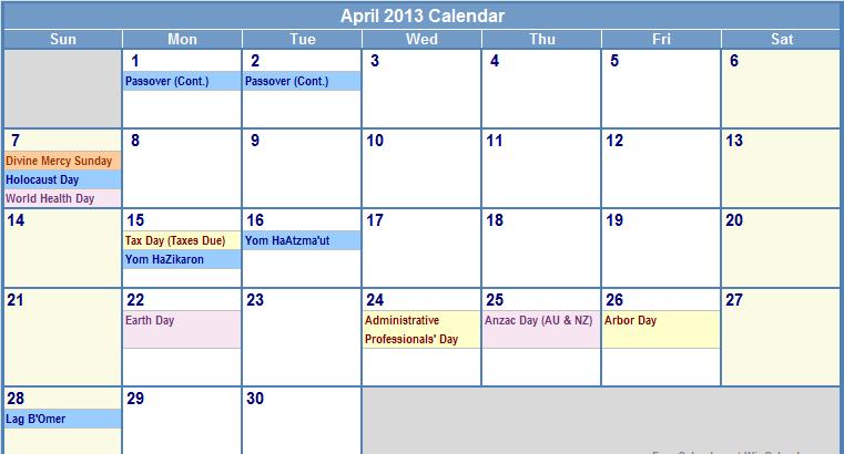 April Calendar Wallpaper Hd : April calendar wallpaper wallpapersafari