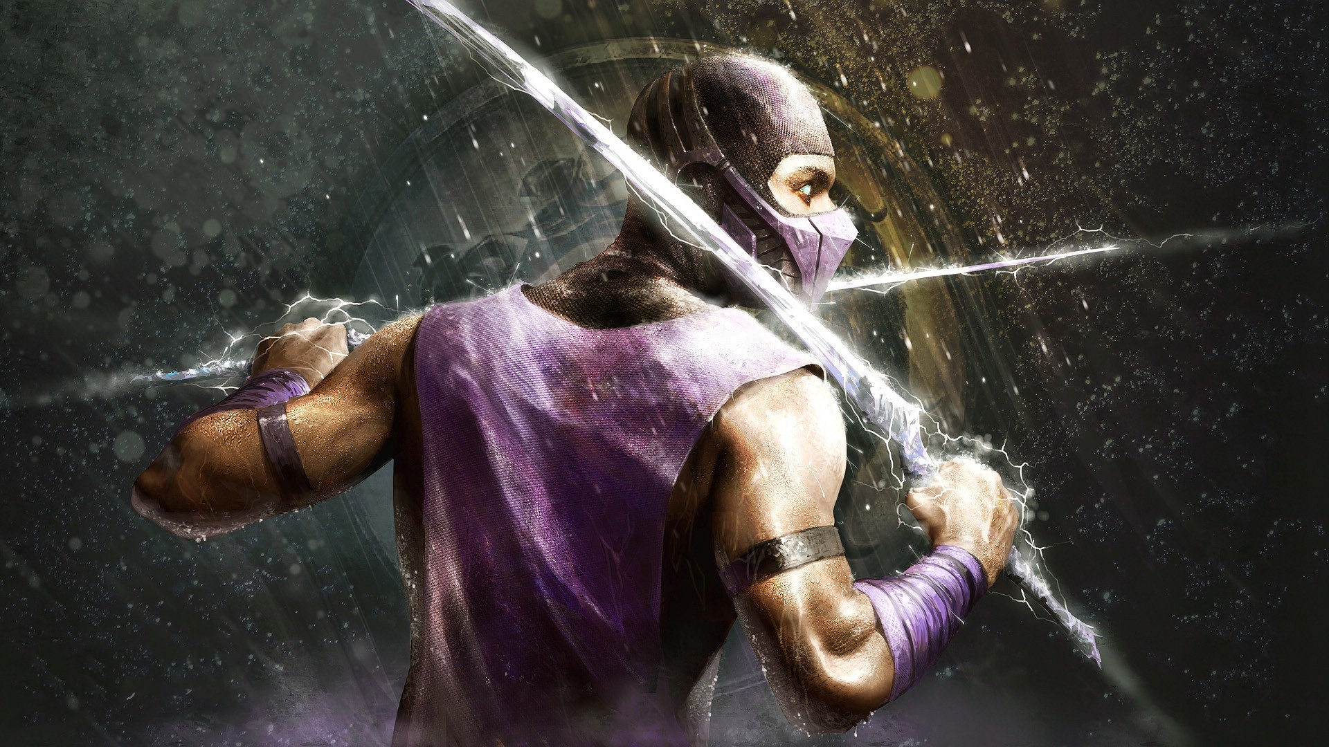 Mortal Kombat Scorpion HD Wallpaper 1920x1080