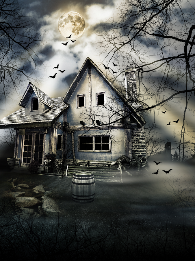 description haunted house wallpaper is terrifying app this haunted app 675x900