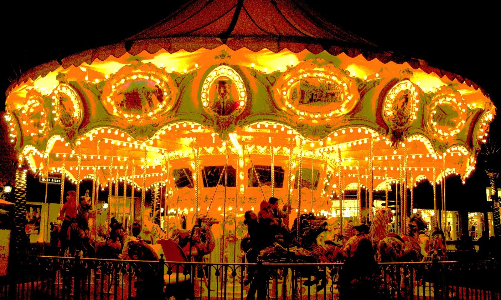 Vintage Merry Go Round by vokalpinoy 1600x960