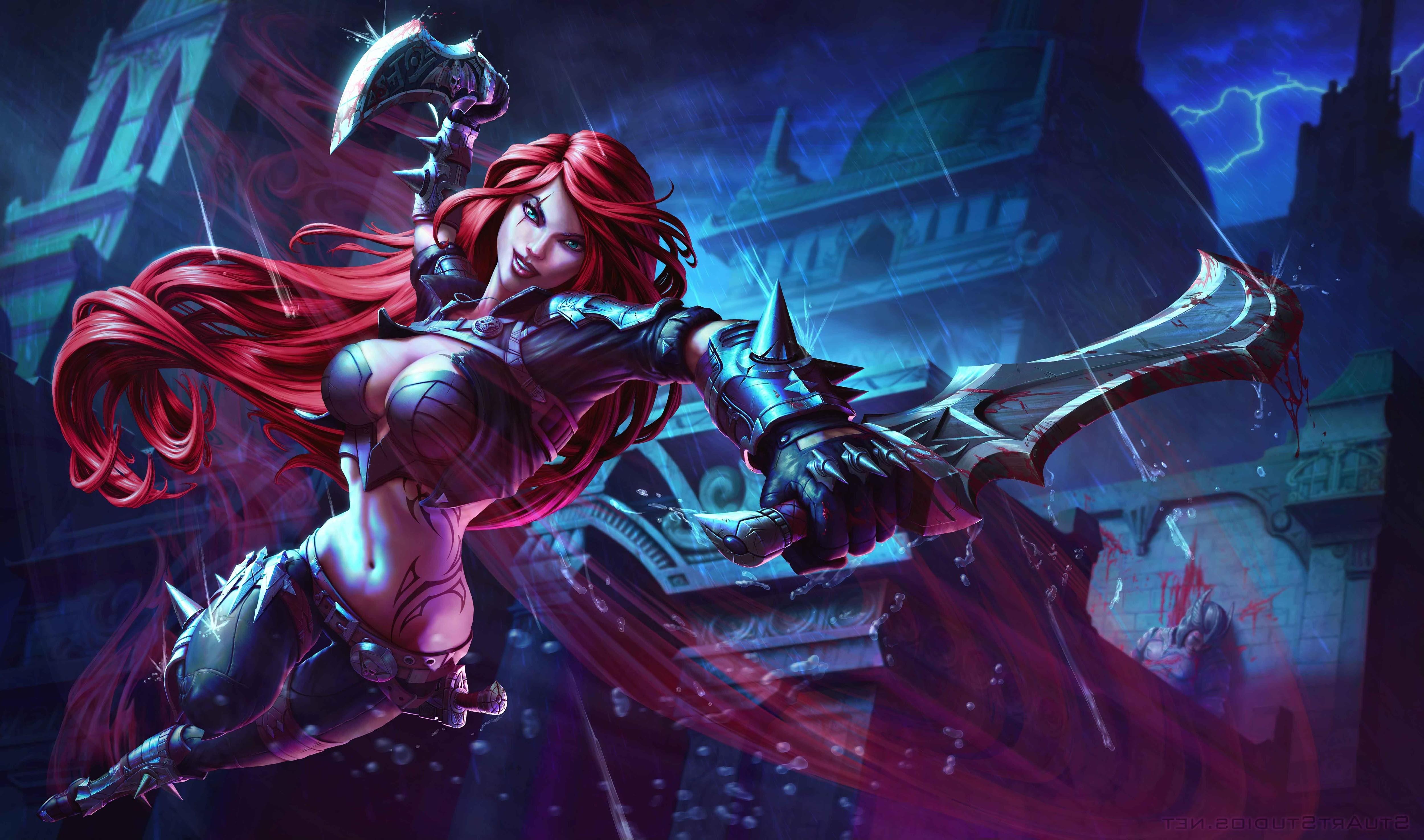 Free Download Pics Photos Katarina League Of Legends Wallpaper
