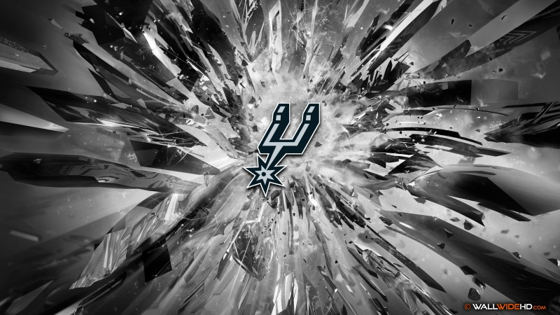 spurs 2015 logo 4k wallpaper description download san antonio spurs 800x450