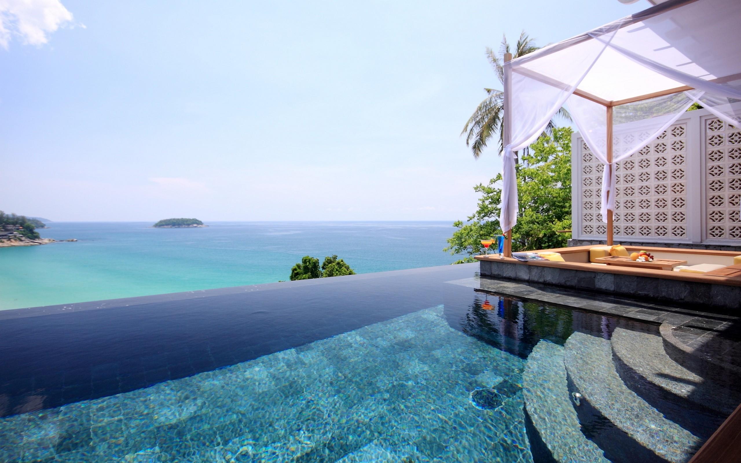 Beach Resort Thailand 16918 Wallpaper Wallpaper hd 2560x1600