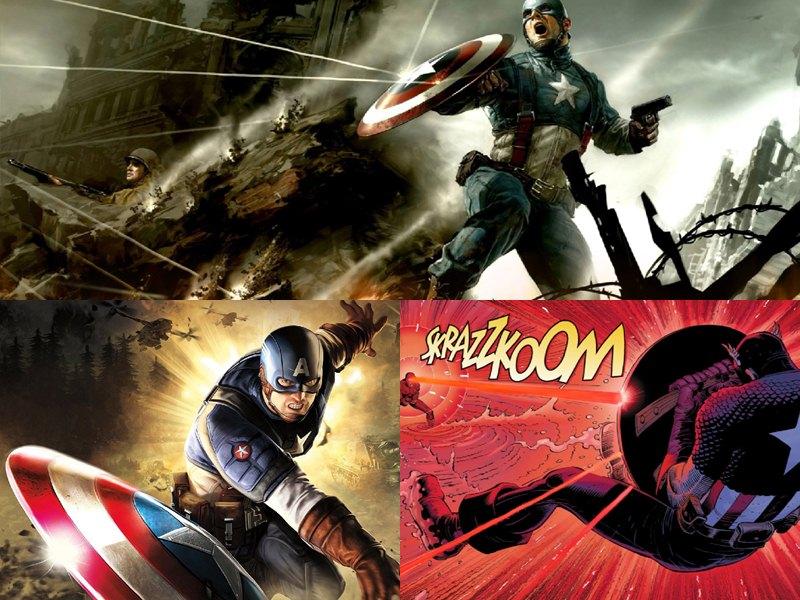 Captain America Screensaver   Animated Wallpaper[h33t][Screensavers 800x600