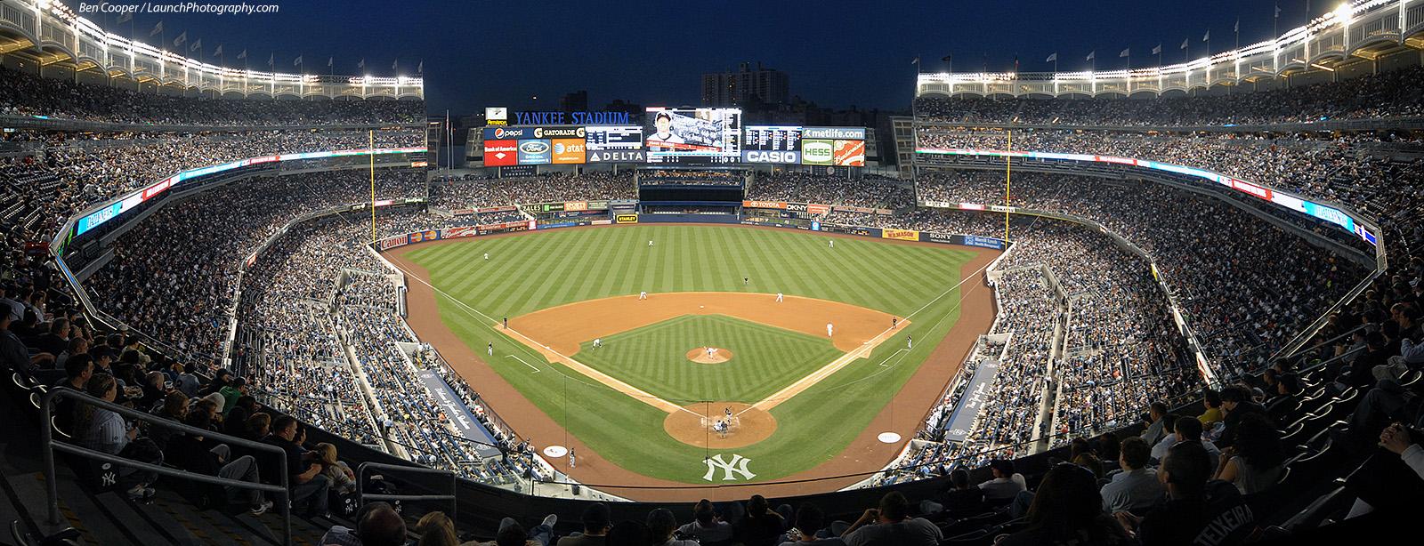 Yankees 6 White Sox 4 Homepage Ballparks Old Yankee Stadium Panoramas 1600x614
