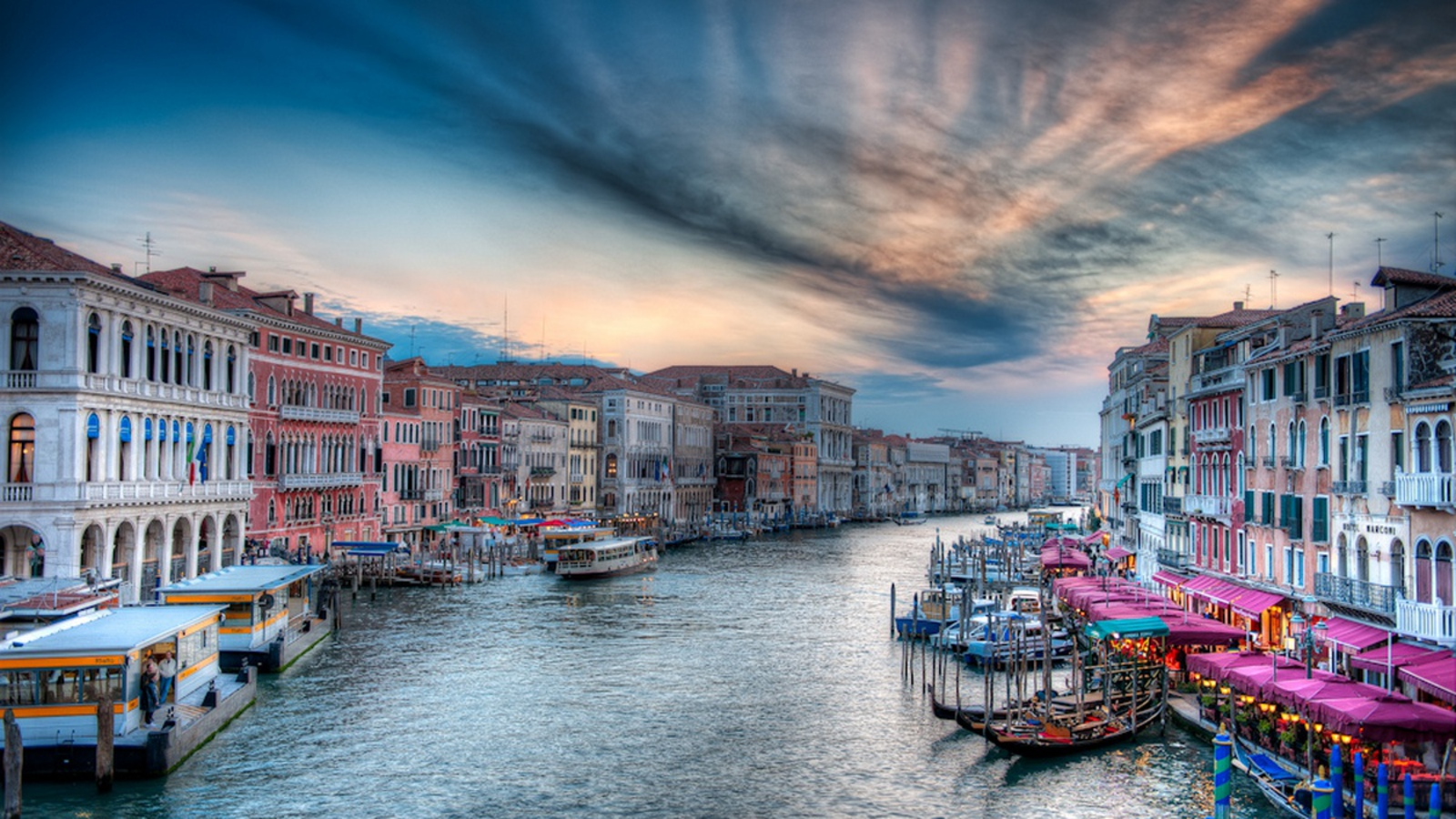 Venice Italy Computer Wallpapers Desktop Backgrounds 1600x900 ID 1600x900