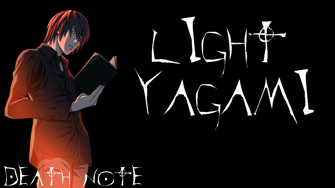 Light Yagami Wallpaper Requested by thespencer64 by 1366x768