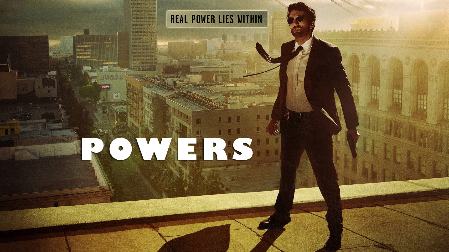 Powers American Tv Series Poster Wallpaper   Reel Life With Jane 1883x1059