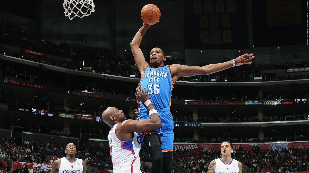 Kevin Durants Career Top 10 Plays NBAcom 1200x672