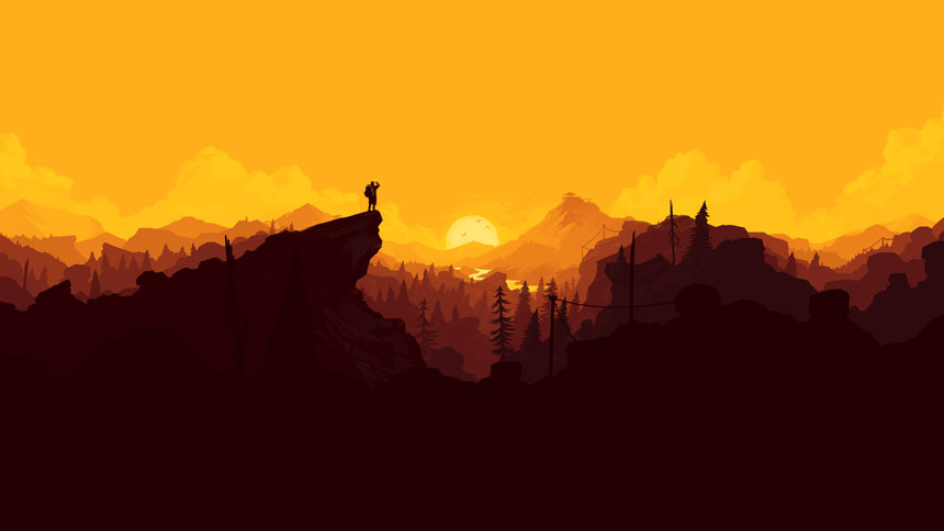 Firewatch Wallpaper in 1920x1080 860x484