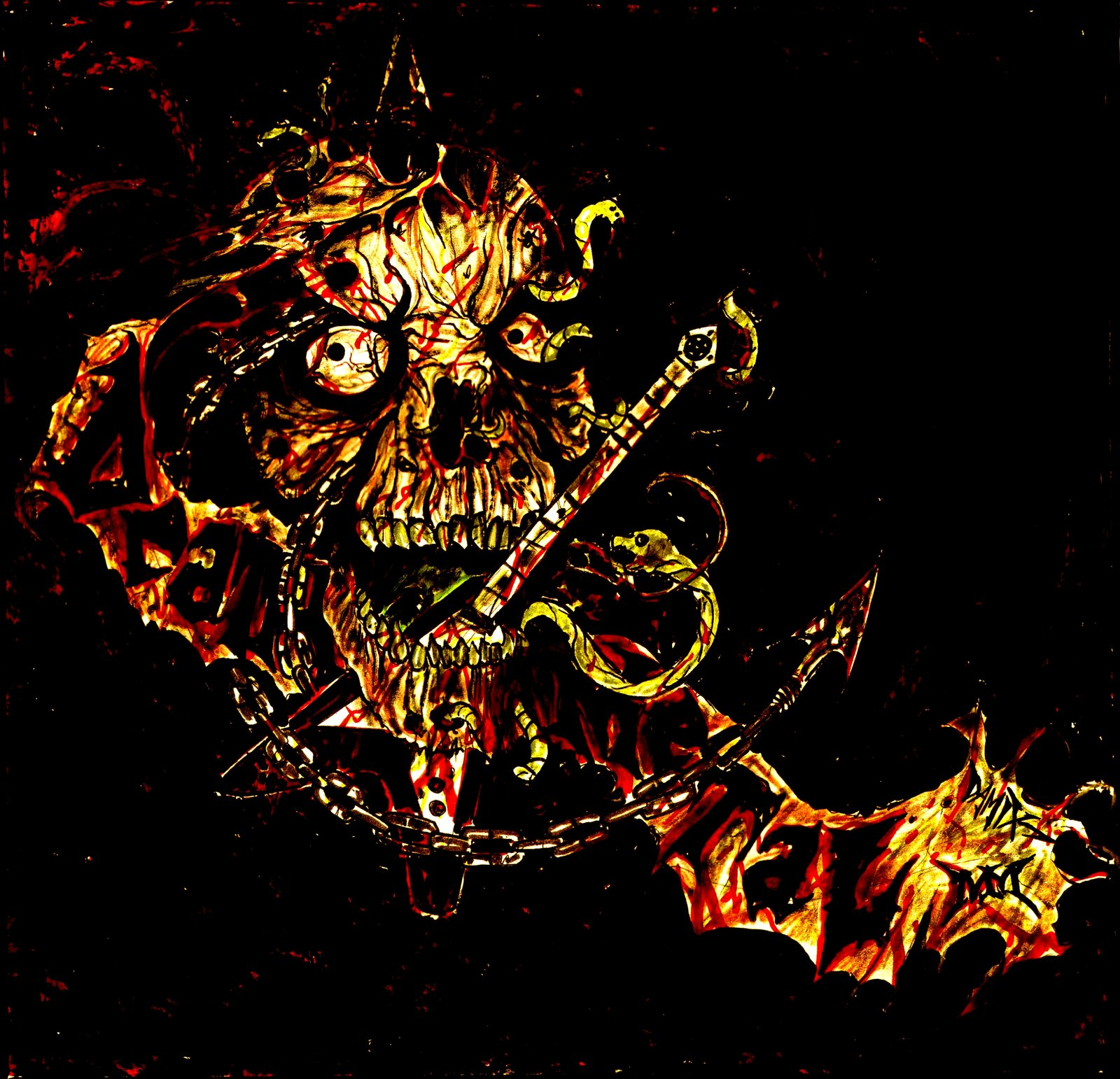 Death Metal Art Wallpaper | www.pixshark.com - Images ...