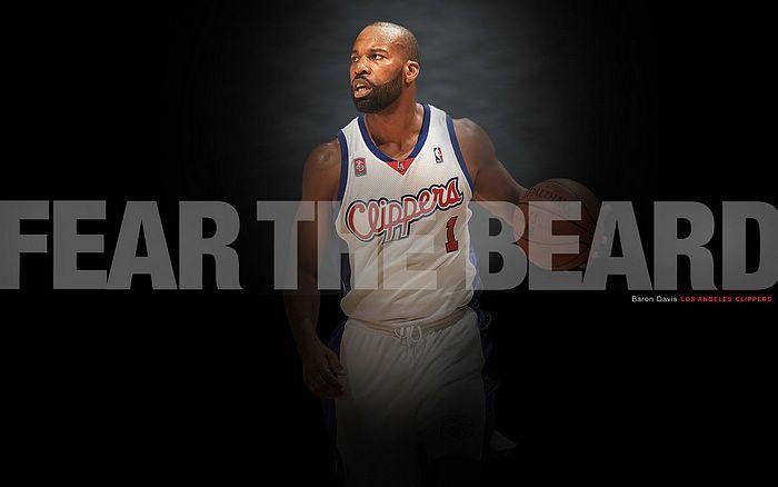 NBA Clippers FEAR THE BEARD Wallpaper 2   Wallcoonet 700x438