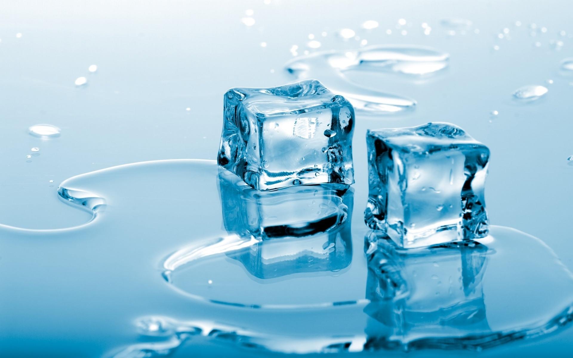 Blue Ice Cubes desktop wallpaper 1920x1200