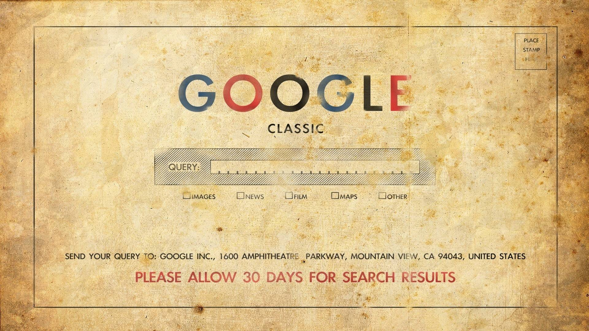 Retro HD Google In The 50s Wallpaper   MixHD wallpapers 1920x1080