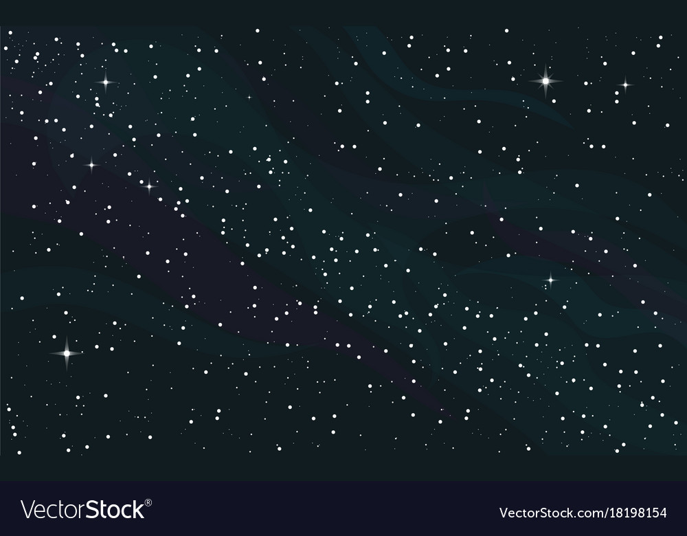 Space starry background Royalty Vector Image 1000x780