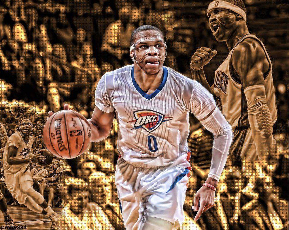 Kevin Durant And Russell Westbrook Wallpapers 2016 1003x797