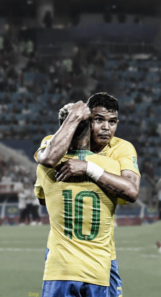 Neymar Jr and Thiago Silva   PSG Wallpaper Dysse Neymar PSG 650x1200