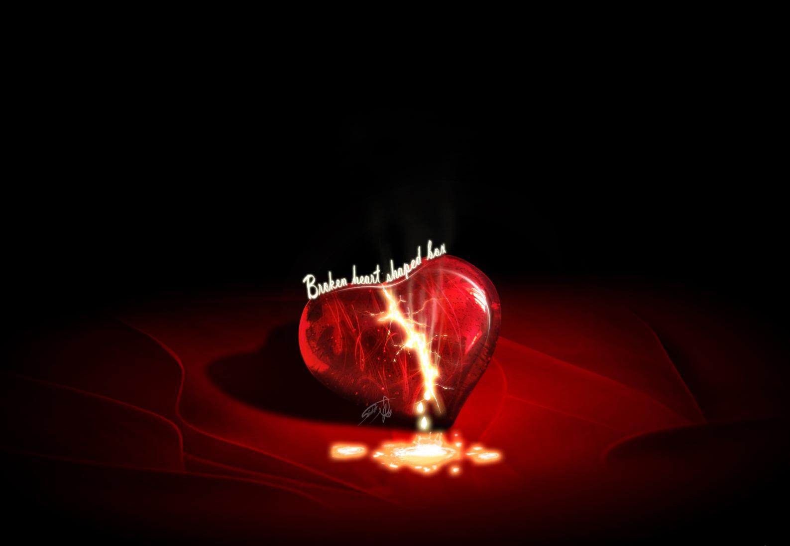 Heart In Love Wallpaper Hd: Heart Broken Wallpapers HD