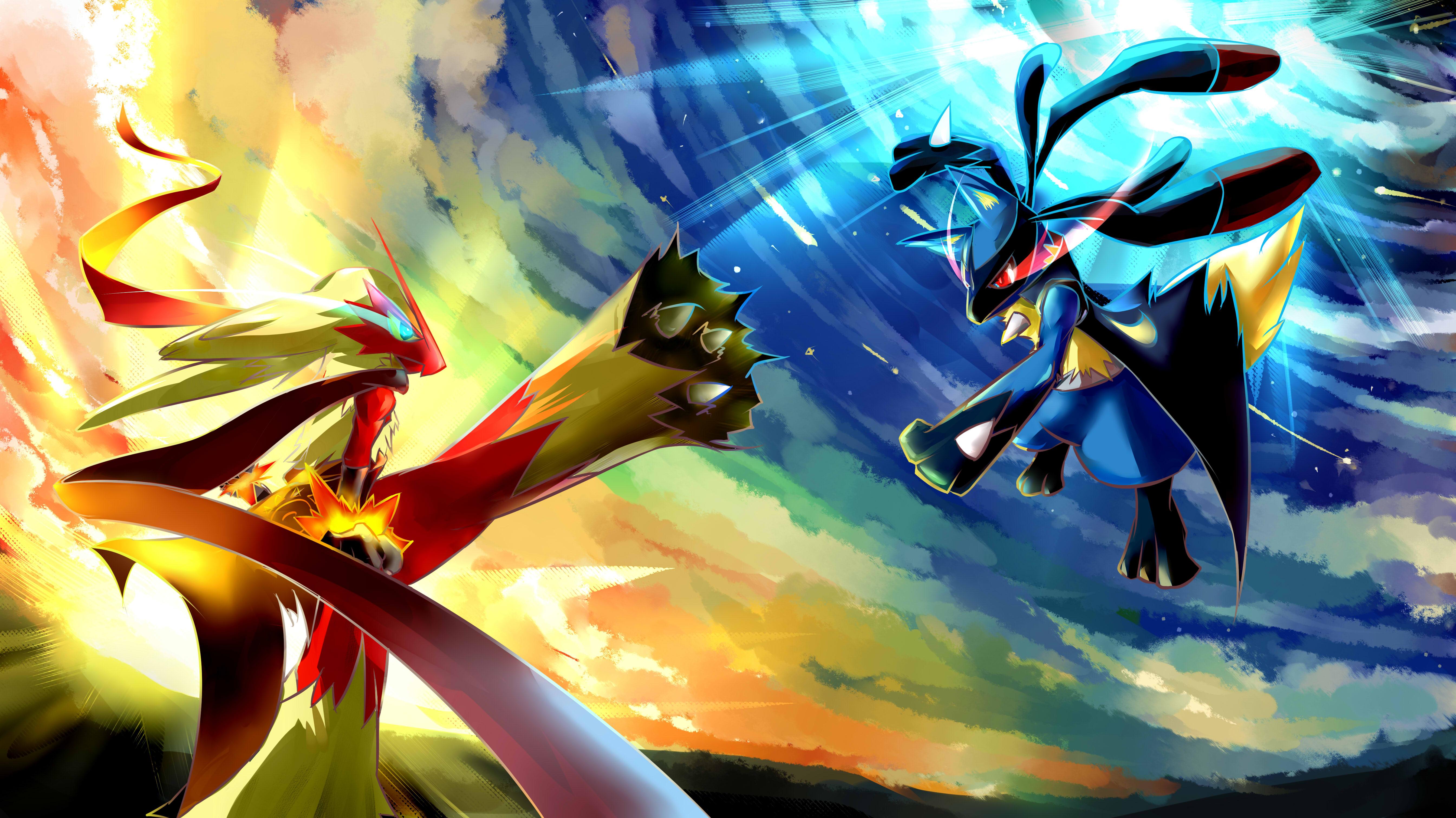 Pokemon Backgrounds for desktop 5377x3023