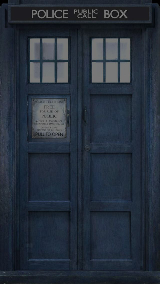 Doctor Who Tardis 640x1136