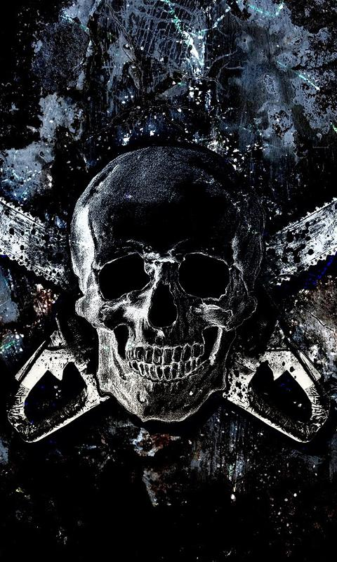 Skull wallpapers for android phone impremedia download gratis skull live wallpapersgratis skull live wallpapers voltagebd Image collections