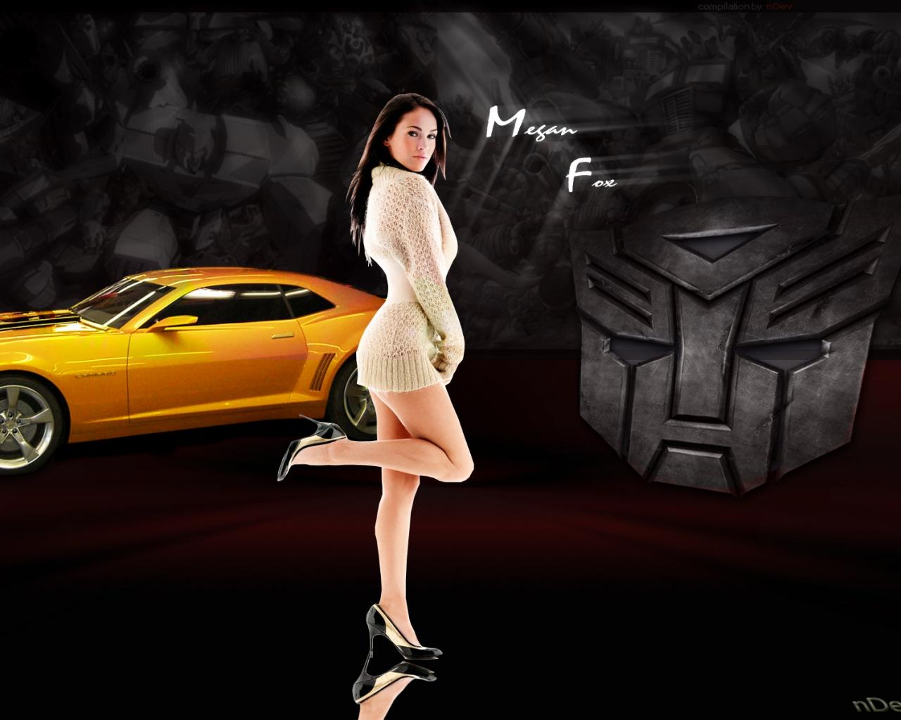 Megan Fox y transformers hd 1280x1024   Famosos   wallpapers hd 38 1280x1024