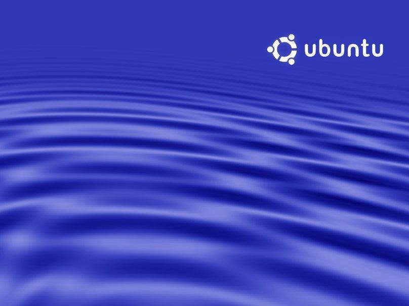 ubuntu rimpelingen blue wallpaper   ForWallpapercom 808x606