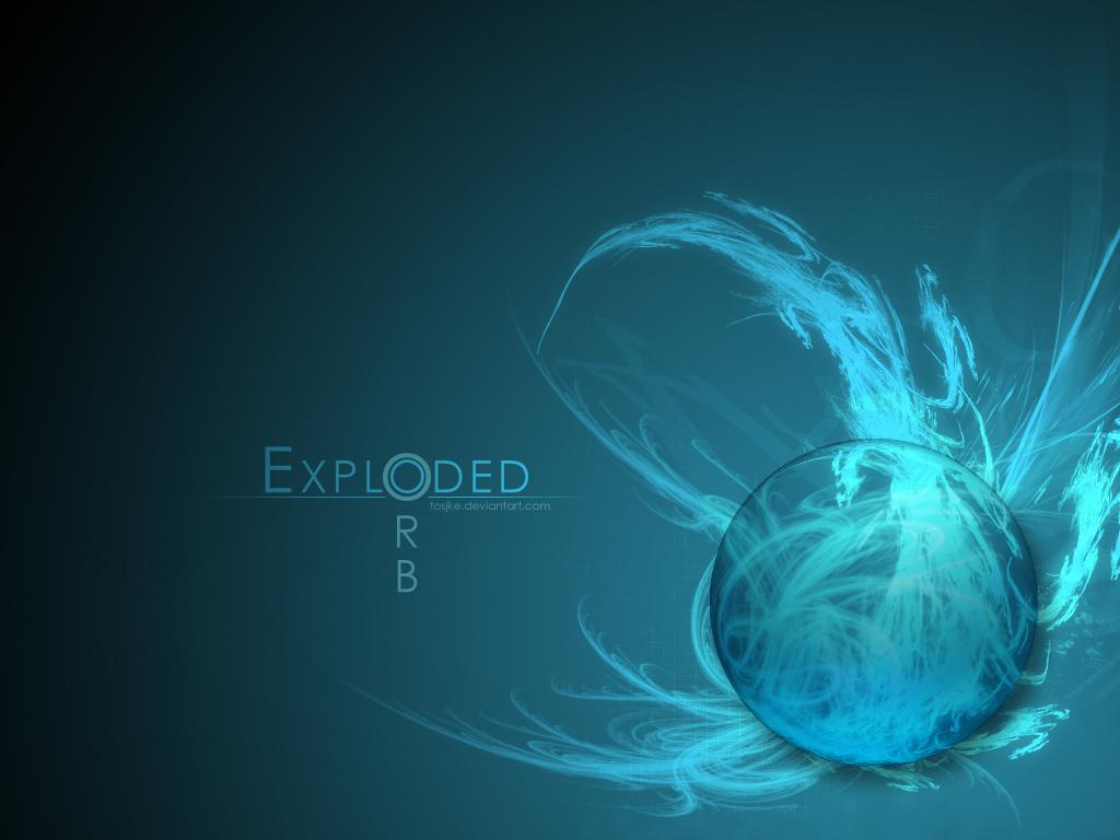 Exploded Orb Wallpaper by Tosjke on deviantART 1024x768