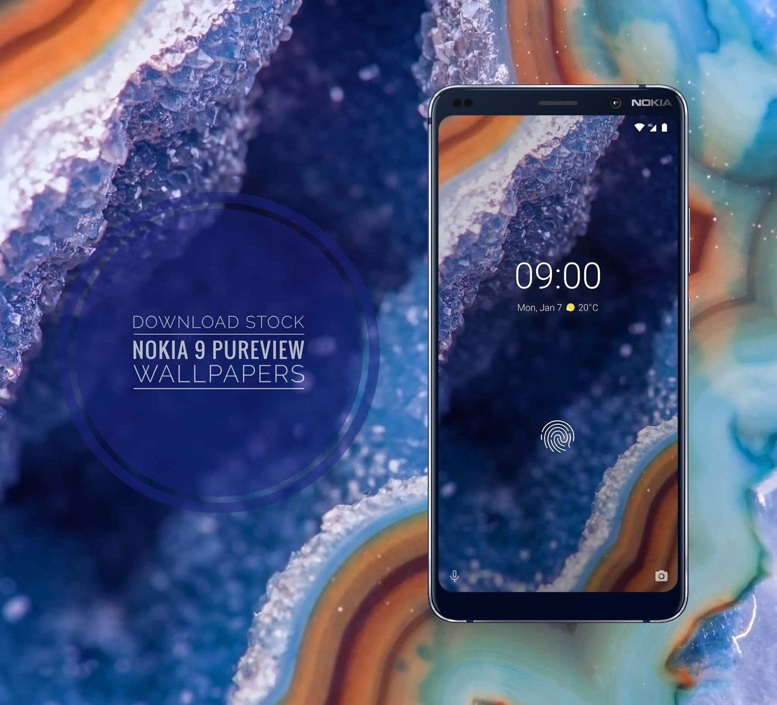 Download All Nokia 9 Pureview Stock Wallpapers From   Nokia 9 1600x1452