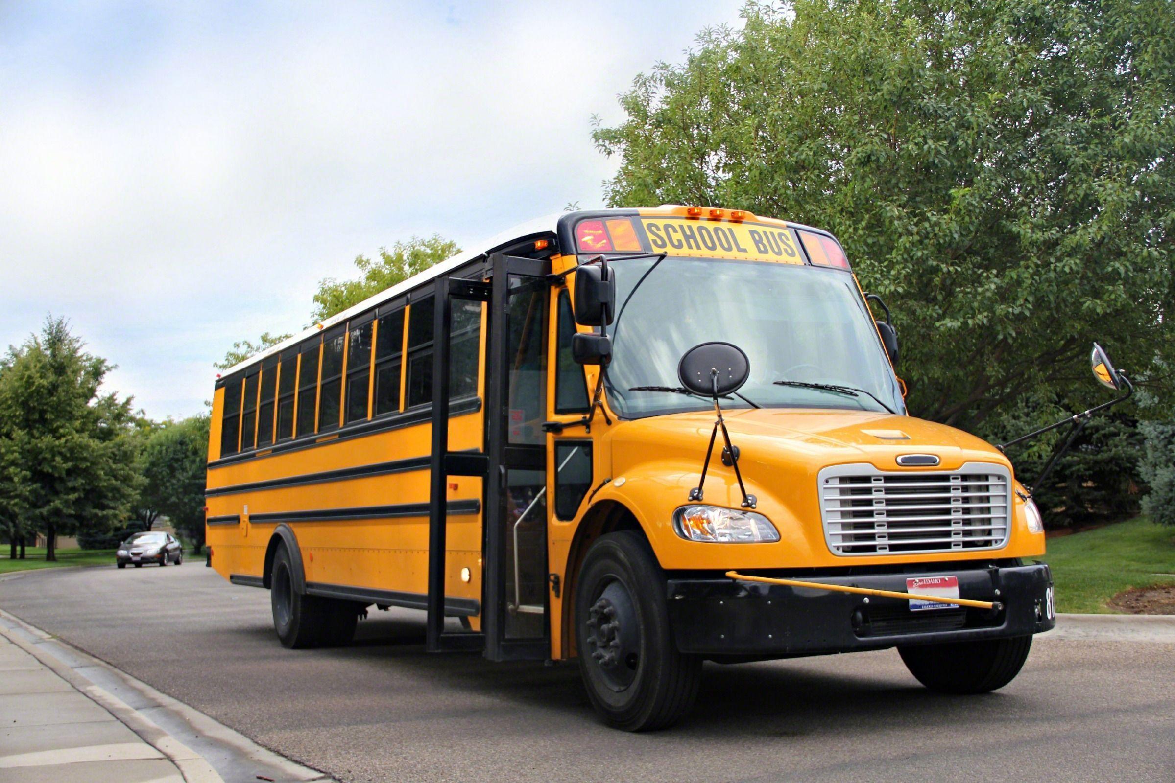 School Bus Wallpapers 2399x1600