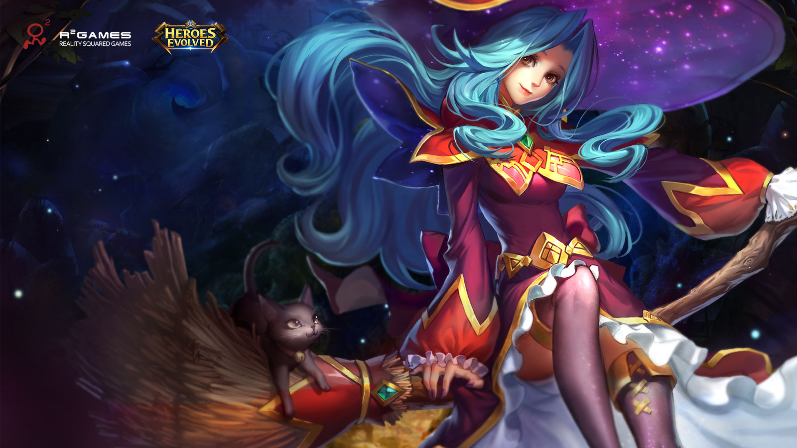 Media Heroes Evolved competitive MOBA 1600x900