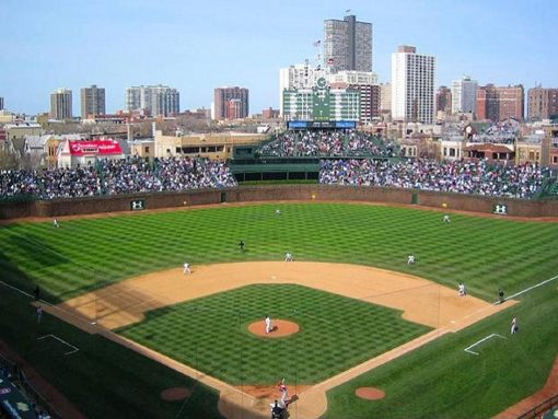 Download Wrigley Field wallpapers to your cell phone   chicago cubs 510x383