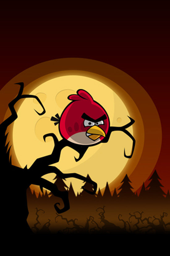 Angry Birds Wallpaper Windows 7 Theme 550x825