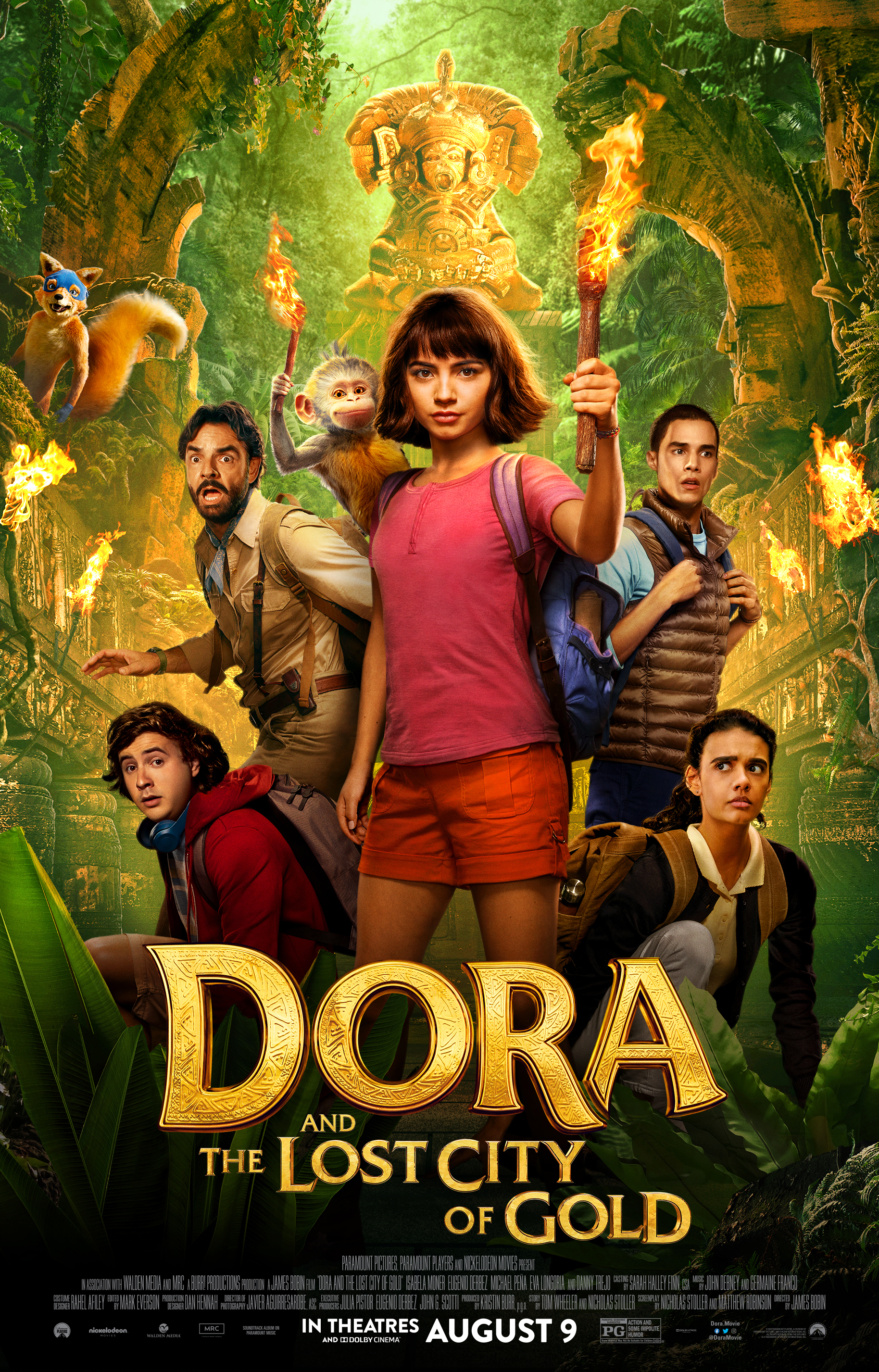 Dora and the Lost City of Gold 2019   IMDb 1828x2853