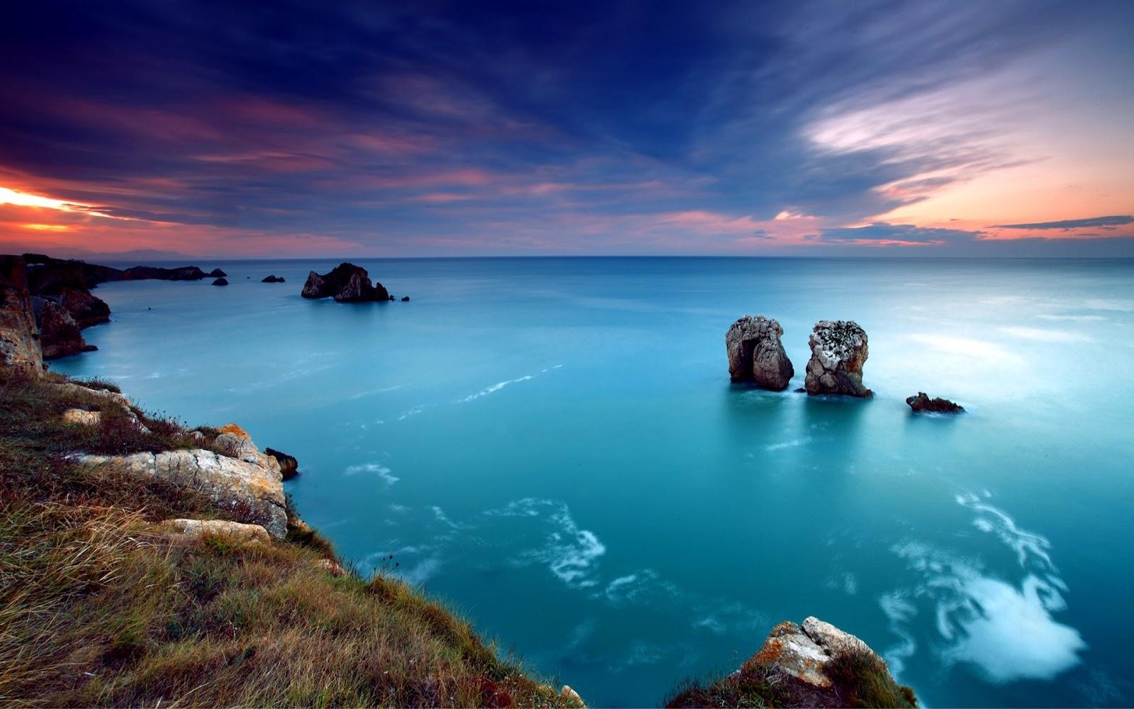 Marine Deep Blue Ocean Full HD Desktop Wallpapers 1080p 1600x1000