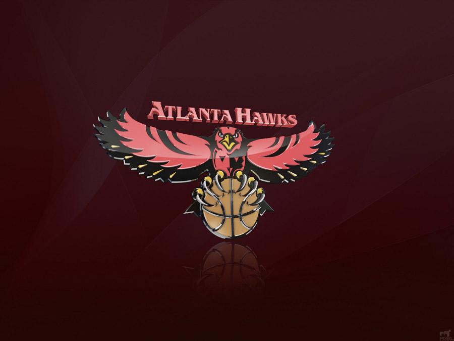 Atlanta Hawks 3D Logo Wallpaper Basketball Wallpapers at 900x675