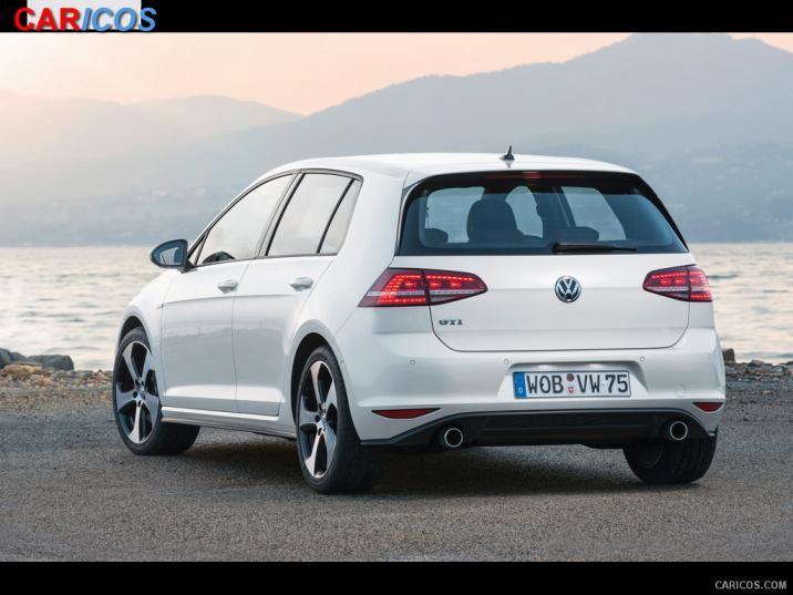 Volkswagen Golf GTI VII 2015   Rear HD Wallpaper 25 1920x1080 716x537