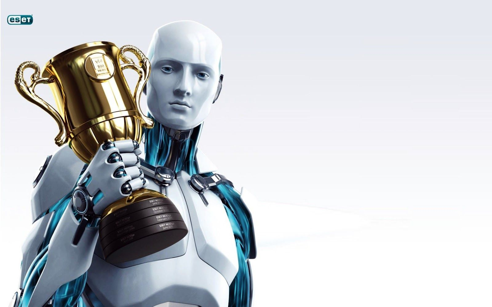 Eset Nod32 Antivirus Robot HD Wallpaper for Desktop WWW Robot 1600x1000