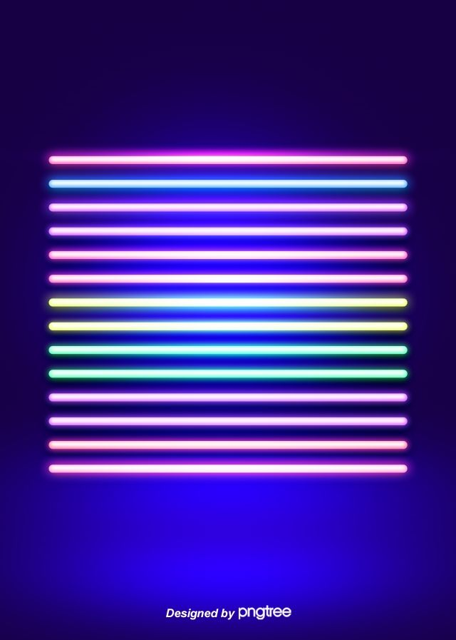 Colored Neon Line Background Projector photography Background 640x897