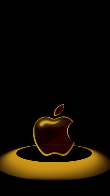 Black And Gold Iphone 5 Wallpaper Official iphone 5 wallpaper 361x640