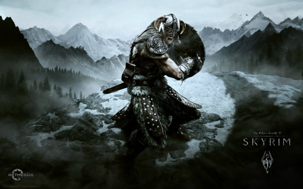 awesome skyrim game pc hd wallpaper 980612 wallpapers55com   Best 980x612